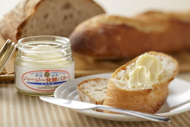 濃厚な味わいの「ジャージー発酵バター」は通信販売でも人気の商品