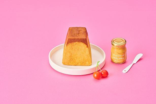 「パステル」の「なめらかプリン」をイメージして作られた「プリン生食パン(プレーン)」(380円)
