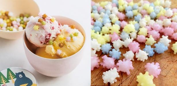 【写真】アイスクリームにのせてもバッチリ映える