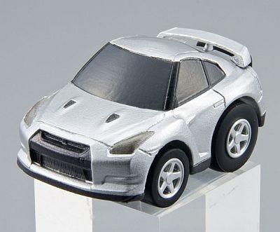 片輪走行パーツ付属「ゼンマイタイプQZ-01日産GT-R」