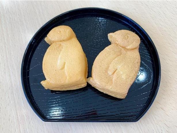 「ペンギンパンケーキ」(2個セット、税込120円)