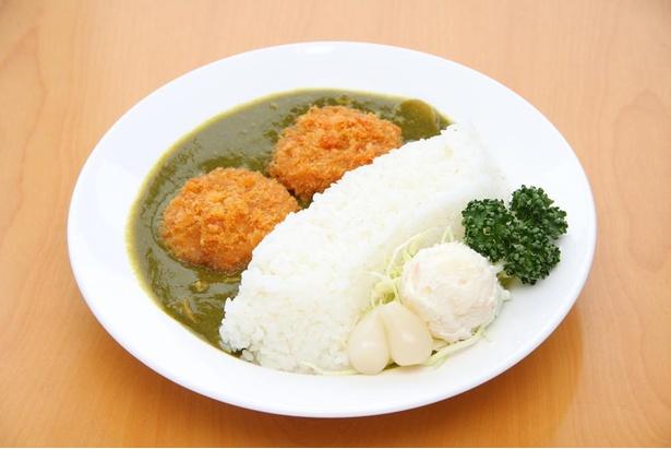 アートのように楽しんで食べたい黒部ダムカレー1100円