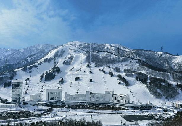 【写真】フジロックフェスティバルの会場である苗場スキー場