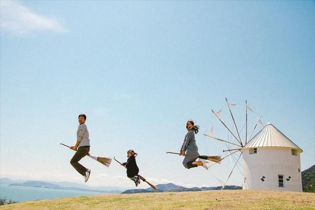絶景スポット満載の「道の駅 小豆島オリーブ公園」