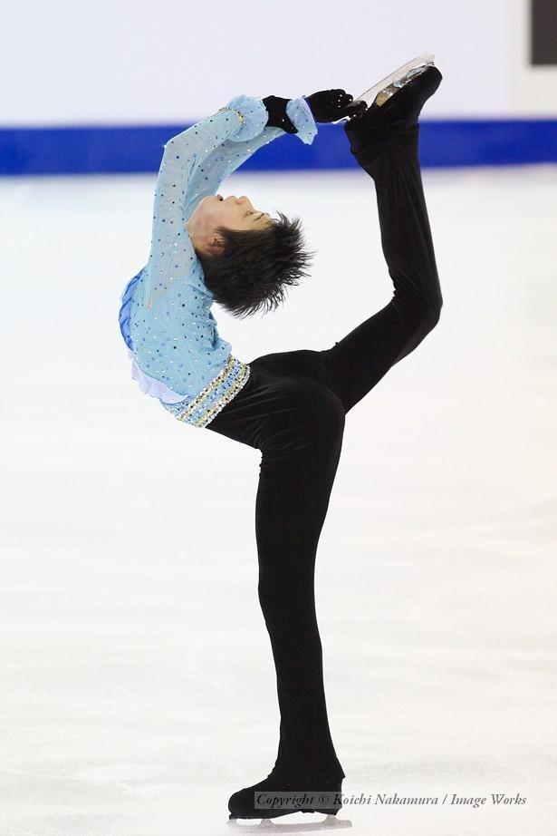 羽生結弦、2010世界ジュニア選手権でのフリースケーティングの演技