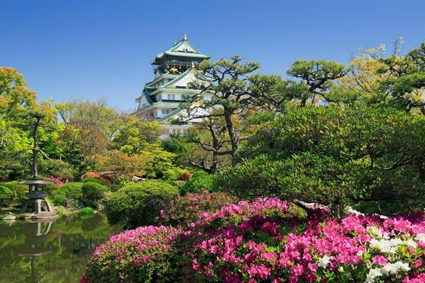 ホテルの目の前には大阪城公園が/ホテルニューオータニ大阪