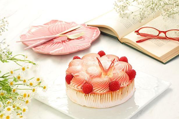 雲を意識した華やかなデザインが目を引くチーズケーキ※画像はイメージ