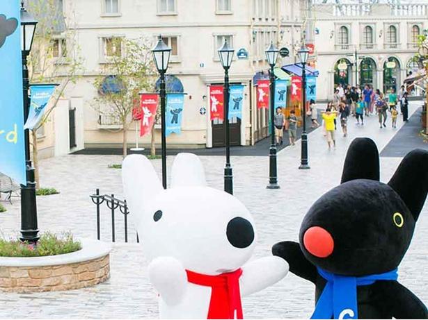 フランスの街並みを堪能できる