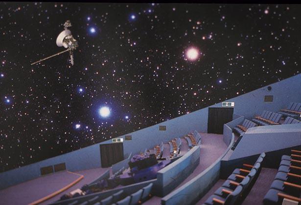 その日の星空を実際に見るような映像