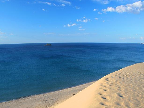 【写真】絶景が広がる海水浴場