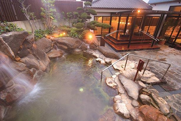 充実のアメニティで手ぶらで気軽に天然温泉が楽しめる