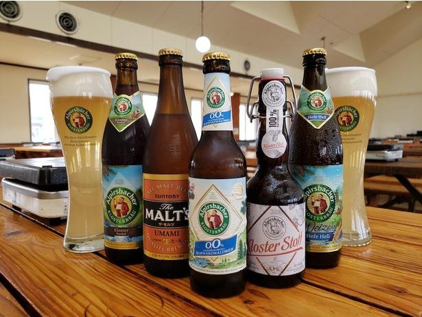 さまざまな種類のドイツビールでカンパイ!