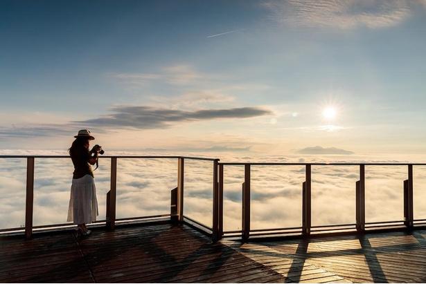 雲海×サンセットは、忘れられない景色になりそう