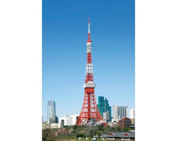1958(昭和33)年にオープンした東京タワー。50日間の休館は初めて