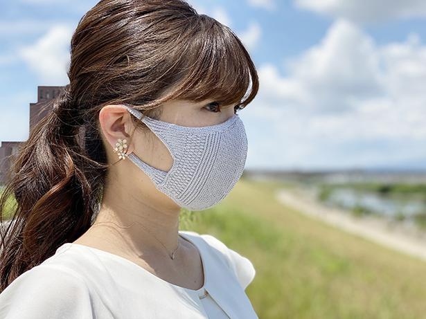 【写真】横画をすっきりと見せるマスク