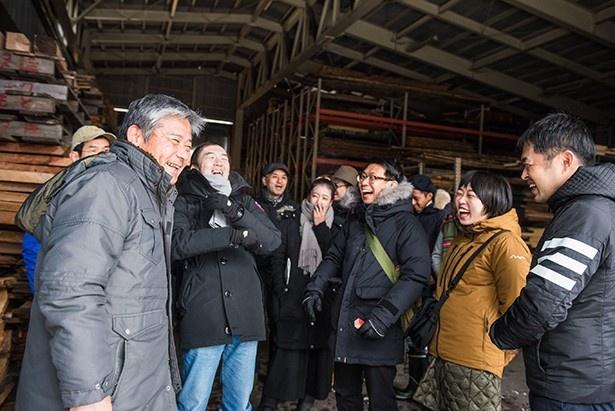 案内してくれたのは、カネモクの代表取締役社長、森本敏さん