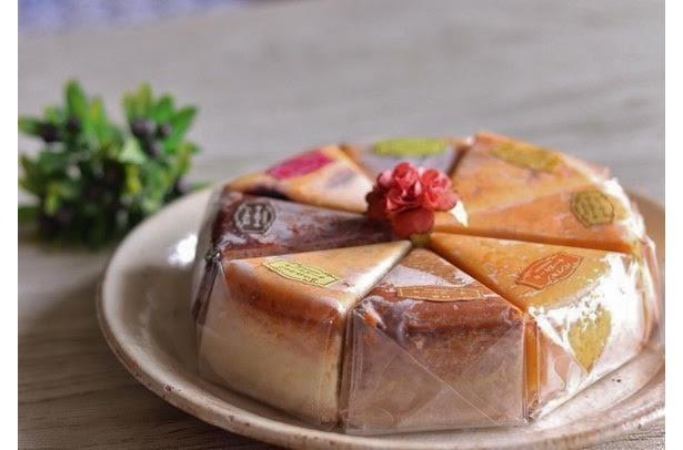 さまざまな食材を組み合わせた多彩なチーズケーキ / カフェ百時