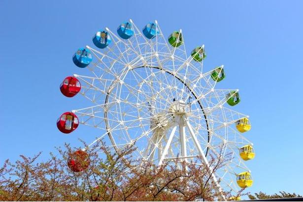 「観覧車」は乗車料中学生以上220円、小学生以下110円