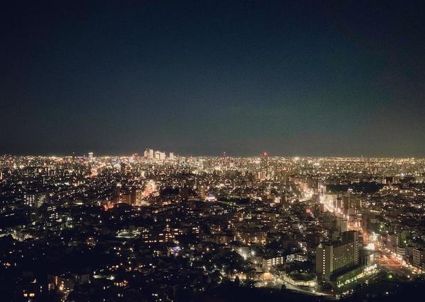 国内有数の夜景スポットとしても有名