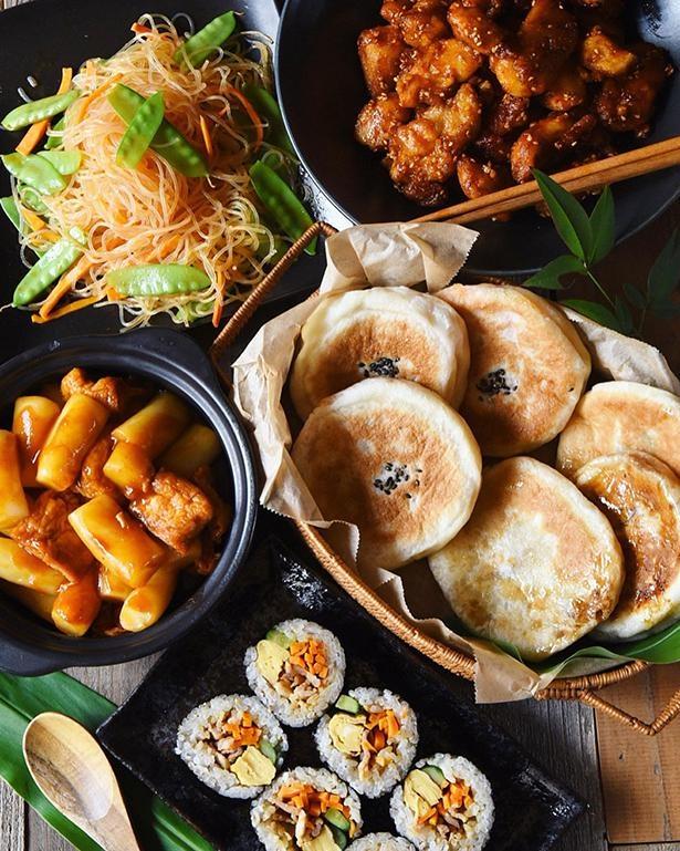 トッポギ、ホットク、キンパなど、韓国料理のフルコース!