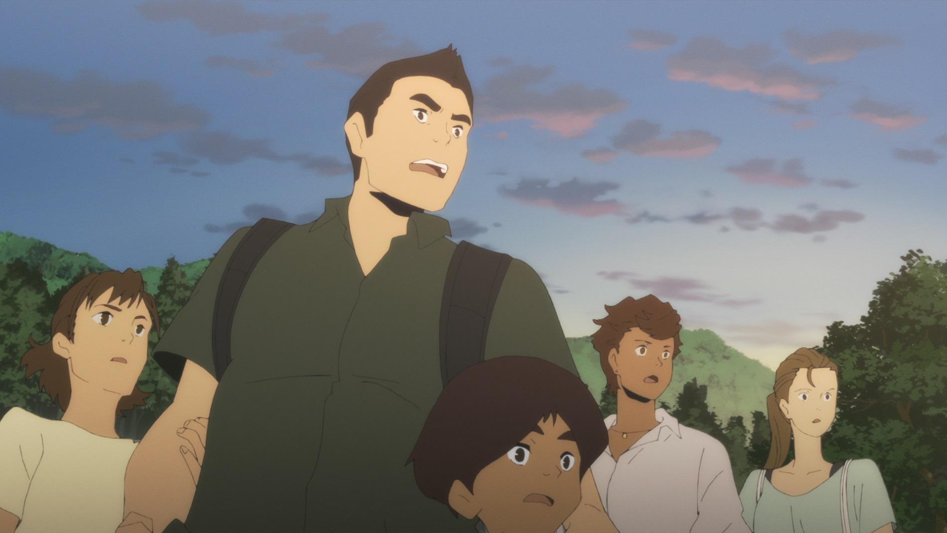 【写真を見る】「日本沈没2020」大地震が起こった日本列島から脱出を試みる家族の姿を描く