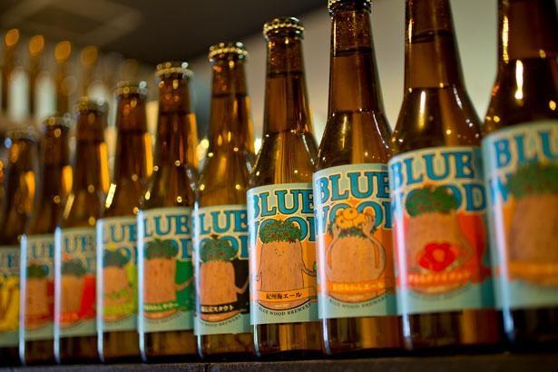 和歌山素材を使ったビールは種類が豊富で選ぶのが楽しい/青木屋酒店