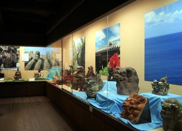 世界のシーサーコレクションを展示する王国歴史博物館