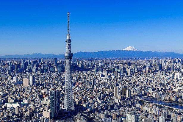 墨田区に位置する東京のニューシンボル