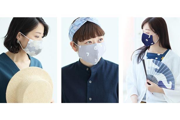 【写真】快適さとおしゃれさを両立させた夏マスク