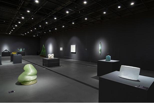 【写真】所蔵品の展示が行われる常設のコレクション展。定期的に展示替えされる