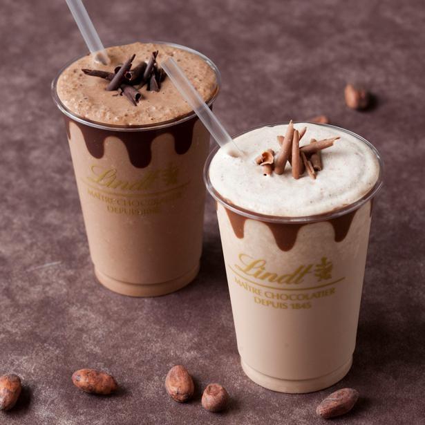 【写真】リッツで人気の「リンツ アイス チョコレートドリンク ダーク&ミルク」