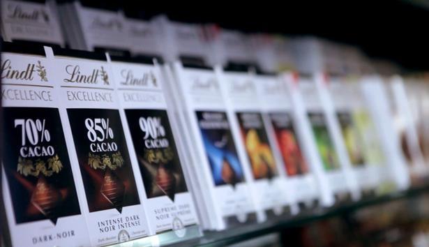 リンツのタブレットチョコレートの最高峰に位置づけられる「エクセレンス」
