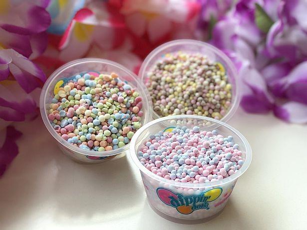 つぶつぶアイスクリームの「ディッピンドッツ」(390円)
