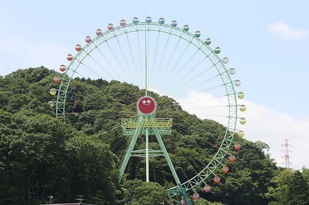 遊園地の一番人気の乗り物は「スターホイール」