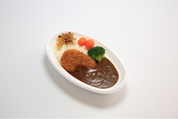 フロンティアで味わえる「三島コロッケカレー」(税込770円)