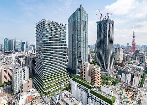 「虎ノ門ヒルズ ビジネスタワー」外観