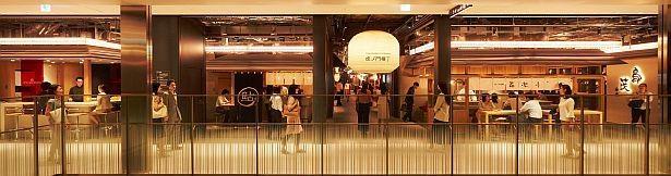 「虎ノ門横丁」には内装も凝った店舗がズラリ