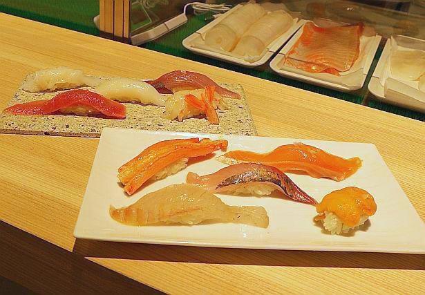 """【写真】オイルと塩で味わう""""オイル寿司""""?名だたる人気店と注目メニューを一挙紹介"""