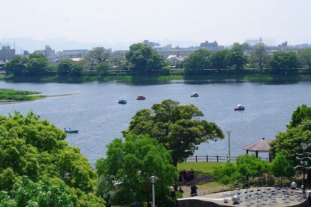 日本一の地下水都市・熊本のシンボル