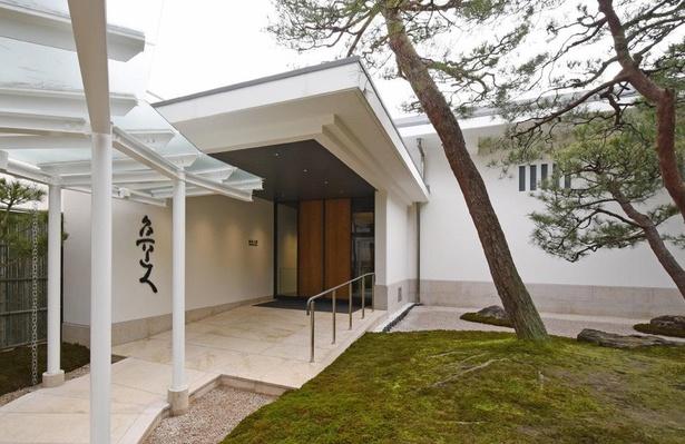 足立美術館所蔵の北大路魯山人の作品だけを展示する新たな施設「魯山人館」