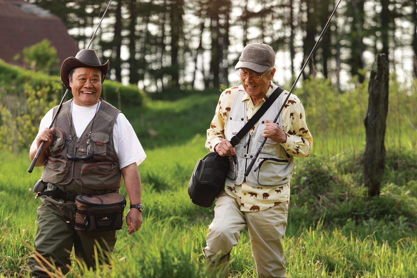 【写真を見る】『釣りバカ日誌20 ファイナル』(09)をはじめ、映画版全作が観られる!