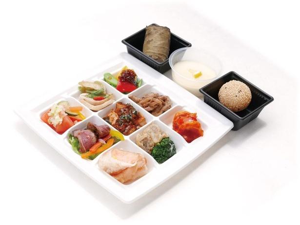 菜香ランチBOX 1~2名様用(2500円/7月末まで2000円)