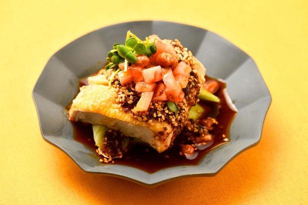 名物 よだれ鶏 ~四川風蒸し鶏の冷菜(1380円)。写真はイメージ