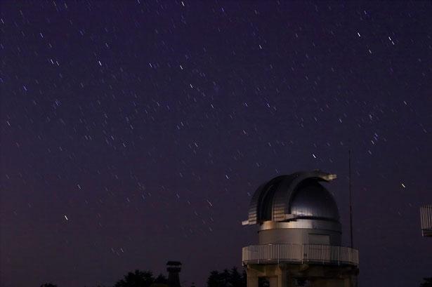 日本三選星名所にも選ばれた美星天文台