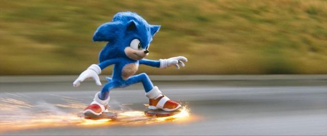 スーパーパワーを持ち、超音速で走ることのできる青いハリネズミのソニック