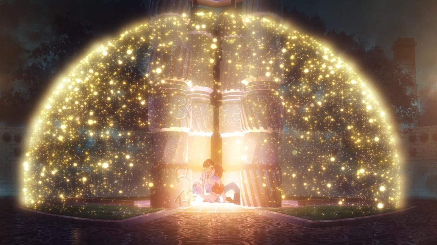 """登り窯広場にある""""時空""""というモニュメント。ここでも不思議なことが…"""