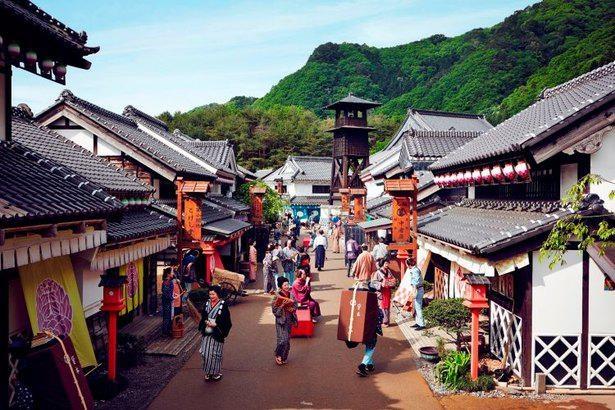 江戸時代にタイムスリップした気分になれる「日光江戸村」