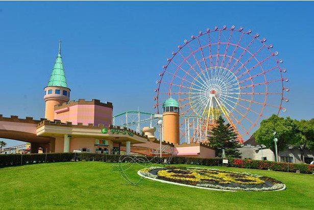 大人から子供まで楽しめる、西日本最大級の遊園地