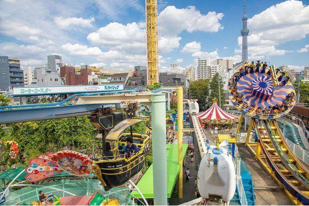 レトロな魅力を持つ日本最古の遊園地
