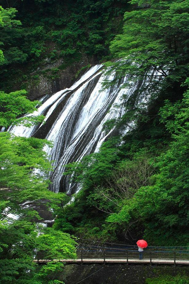 四季折々の表情が楽しめる、国名勝の滝 「袋田の滝(茨城県久慈郡)」